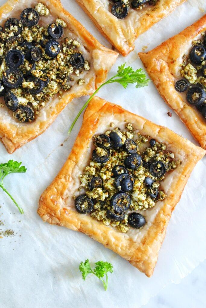 Za'atar and Feta Cheese Pies