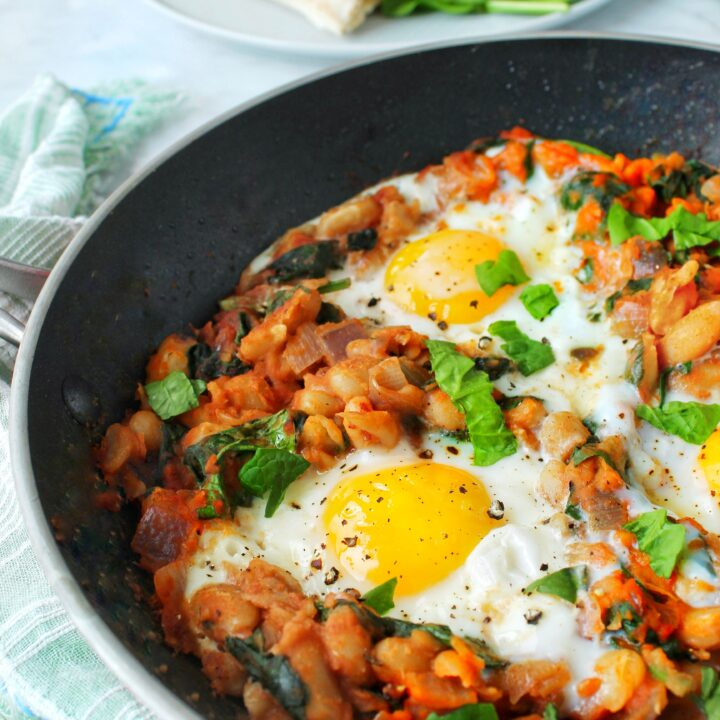Eggs and Beans Brunch Skillet