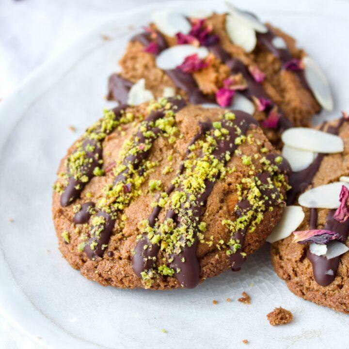Gluten free double almond cookies