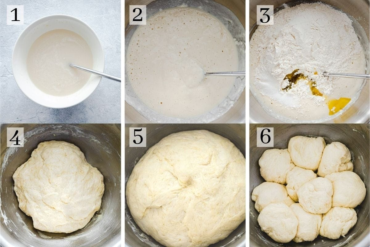 process steps for cheese manakish